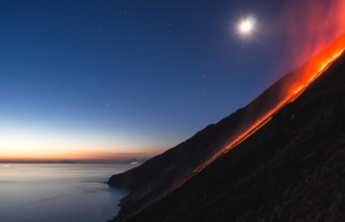 Viaggio in Italia La sciara del fuoco
