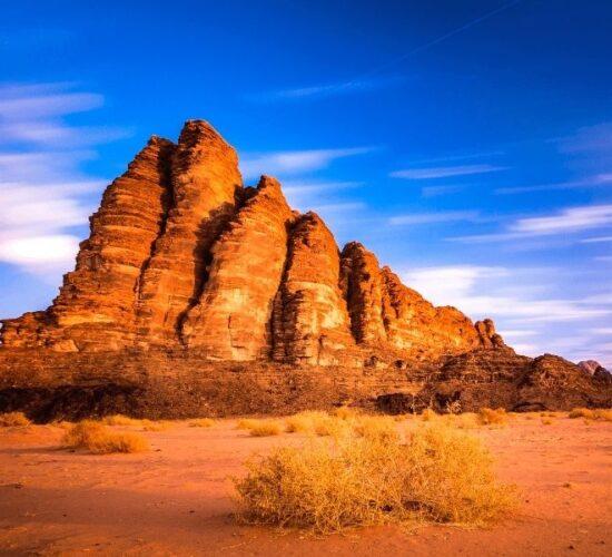 Tour in Giordania alla scoperta del deserto del Wadi Rum