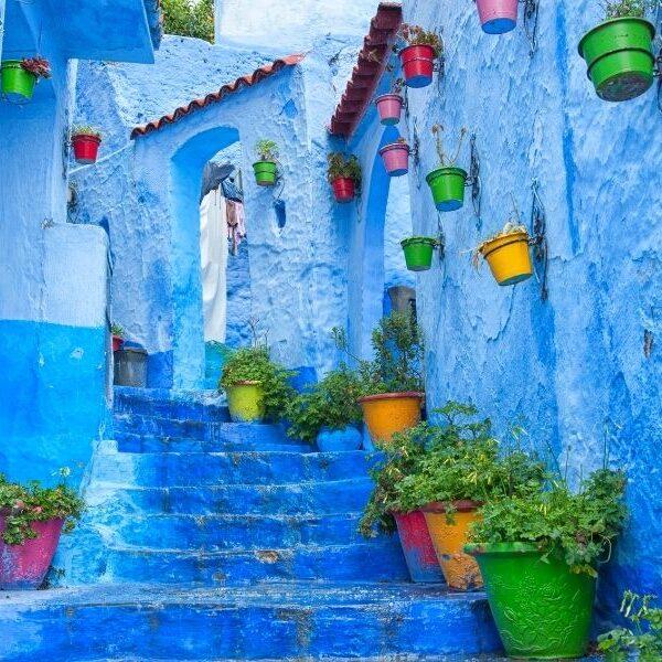 Viaggio di gruppo in Marocco alla scoperta di Chefchaouen, la città blu