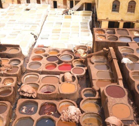 Viaggio di gruppo in Marocco alla scoperta di Fes e le sue famose concerie