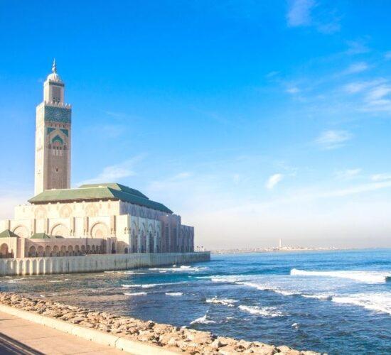 Viaggio organizzato in Marocco alla scoperta della grande moschea di Casablanca