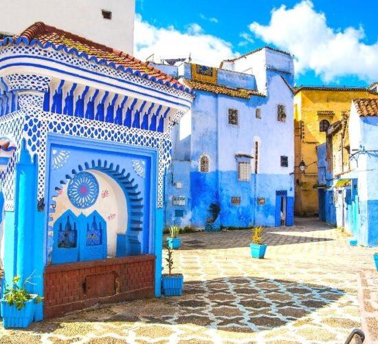 Viaggio di gruppo in Marocco alla scoperta di Chefchaouen, le città Imperiali ed il deserto del Sahara