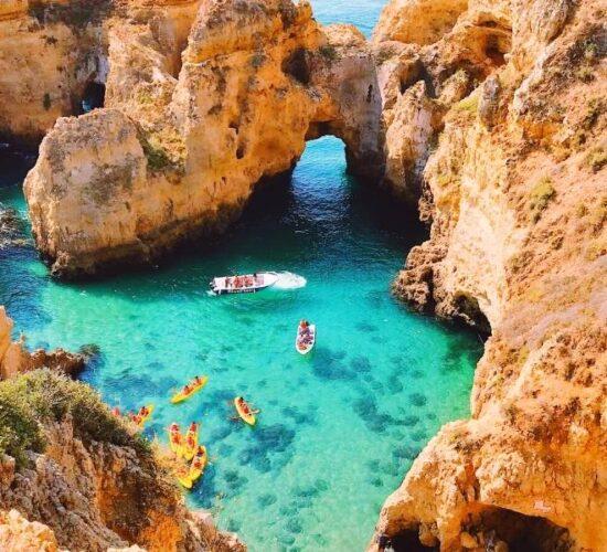 Viaggio di gruppo in Portogallo con calette da sogno