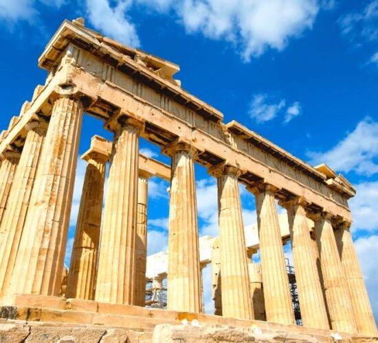 Viaggio di organizzato in Grecia e l'acropoli di Atene