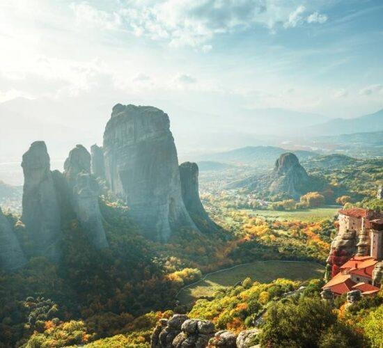 Viaggio di organizzato in Grecia - I monasteri ortodossi delle Meteore