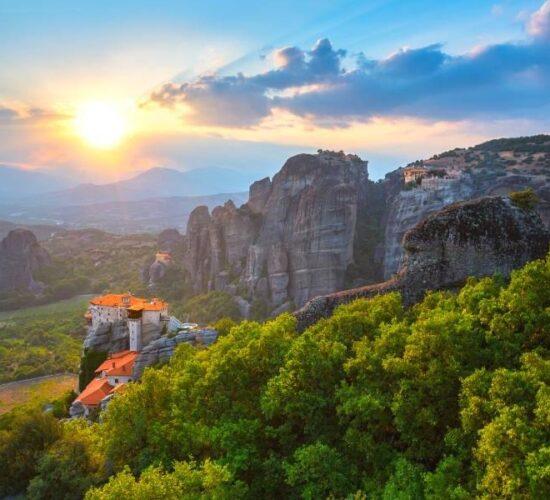 Viaggio di organizzato in Grecia e la magia delle Meteore
