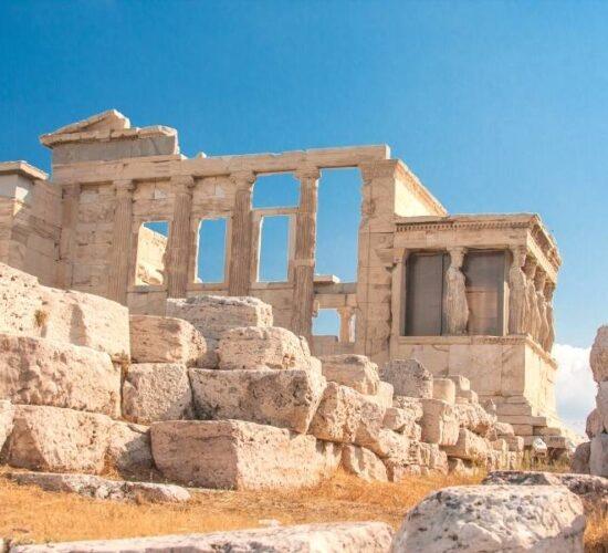 Viaggio di gruppo in Grecia - L'acropoli di Atene
