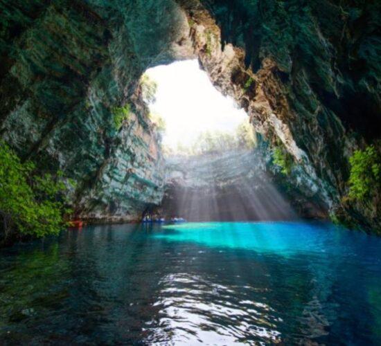 Viaggio organizzato a Cefalonia - La Grotta di Melissani