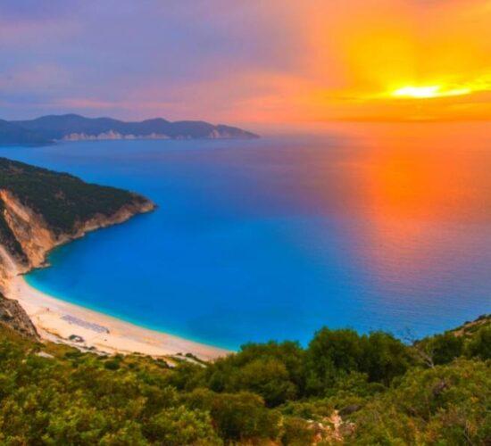 Viaggio Organizzato a Zante Cefalonia Itaca - La spiaggia di Myrtos