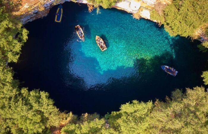 Viaggio organizzato a Cefalonia - Il Lago Melissani
